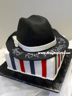 Black Fedora Hat cake Food Picture - Food Picture