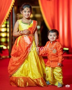 Ideas Baby Dress Indian Girl For 2019 Kids Party Wear Dresses, Kids Dress Wear, Dresses Kids Girl, Kids Outfits, Boys Party Wear, Family Outfits, Kids Wear, Kids Indian Wear, Kids Ethnic Wear