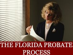 """The Florida Probate Process from Robert Kulas In a testate estate the person named as """"Executor"""" in the Will oversees the probate of the estate.In an intestate estate someone must be appointed the """"Personal Representative"""" of the estate. Usually, a spouse or family member will volunteer.Learn more about the Florida probate process in this presentation. The post The Florida Probate Process appeared first on Robert J. Kulas."""