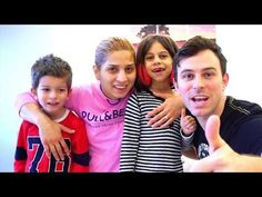 Family Fun Time with Real Life Trick Shots & Family Songs for Children - YouTube