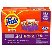 Tide Pods Laundry Detergent Spring Meadow 152 Ct Tide Pods
