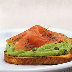 Avocado-Lachs-Toast Rezept | Küchengötter