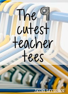 The cutest teacher t-shirts! Perfect for back to school, special ed teacher outfits, and grade level teaching teams!