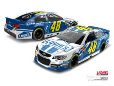 2013 No. 48 Jimmie Johnson Foundation Paint Scheme on the new Chevy SS stock body!