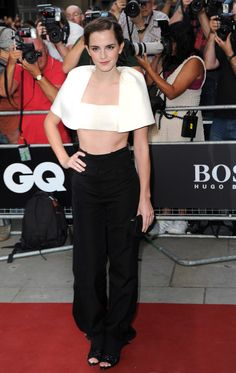 EMMA WATSON - LONDON  Emma Watson in Balenciaga attends the GQ Men of the Year awards at The Royal Opera House on September 3, 2013 in London, England