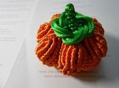 """Chinese Knot"" Pumpkin tutorial"