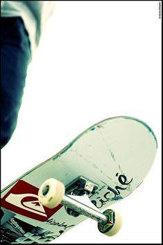 Daniel Cardone Board KvinMetallier  #skate quiksilver-skate