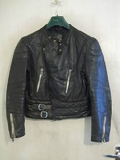 #Vintage #1970's uk leather erfecto #motorcycle jacket size m ,  View more on the LINK: http://www.zeppy.io/product/gb/2/252537908209/