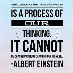 """@Regrann from @francinebellperformance -  Einstein said """"the world as we have created it."""" God did a much better job at Creation. #letschangeourthinking #francinebellperformance #regrann"""