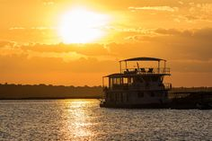 Welcome Aboard, Continents, Cruise, Wildlife, Environment, Around The Worlds, River, Sunset, Outdoor