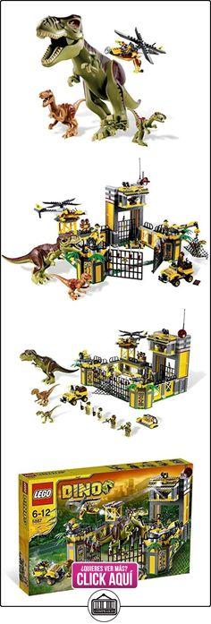 LEGO 5887 Dino - Cuartel general de defensa jurásica  ✿ Lego - el surtido más amplio ✿ ▬► Ver oferta: https://comprar.io/goto/B005VPREA8