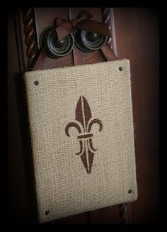 another good example of neat things that can be done with burlap