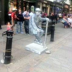 Competition and creativity on the london's streets
