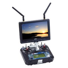 """Flysight 7"""" FPV Monitor Wireless Built in Receiver 32 Channel Black Pearl RC801#wirelessavreceivermanufacturers #wirelessdiversityreceiver #wirelesshdmiavreceiver #wirelesslcdmonitor7inch #wirelesslcdmonitorandtransmitterkit #wirelesslcdmonitorreceiver"""