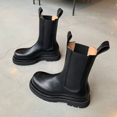 Leather Chelsea Boots, Bottega Veneta, Rubber Rain Boots, Pairs, Outfits, Accessories, Shoes, Inspire, Closet