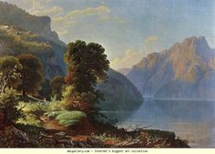 George Caleb Bingham. Landscape: Mountain View.