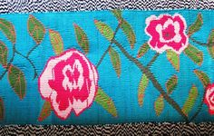 Rose motif design ideal for a young girl's bedroom