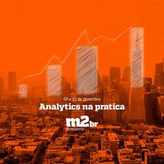 Post Facebook - Curso Analytics na prática  #grupom2br #m2br #curso #analytics