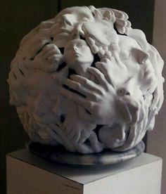 Many Lives lamp Ceramic Sculpture Figurative, Earthenware, Sculpture Art, Art Gallery, Pottery, Clay, Statue, Ceramics, Board
