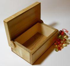 Hinged Keepsake Box
