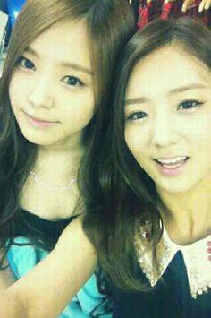 Naeun&Bomi #apink