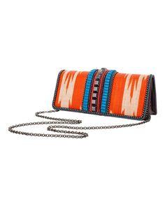 Cotton, Swarovski crystal Momo Clutch Bag | Bea Valdes £620 at CoutureLab