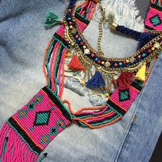 Meus colares da @vanguardastore. Perfeitos! ❤️❤️❤️WhatsApp da loja 8597046023. #andreafialho