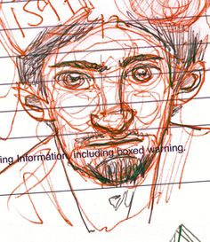 Marcus. Drawing by Consti*