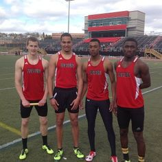 Congrats to the winning Frostburg State 4x400 meter relay team! #instaFrostburg from @frostburgsports
