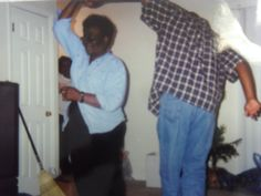I love this pic of Mu & Bubba dancing.