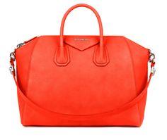GIVENCHY ANTIGONA ORANGE BAG