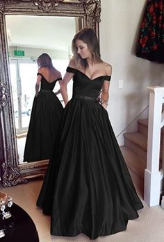 Off The Shoulder Prom Dresses Beaded Evening Dresses Black Evening Gowns on Luulla African Evening Dresses, Black Evening Dresses, Black Prom Dresses, Mermaid Evening Dresses, Prom Party Dresses, Bridesmaid Dresses, Wedding Dresses, Dress Prom, Long Dresses