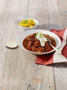 Die 15 Besten Bilder Von Gulasch Rezepte One Pot Crock Pot Und Food
