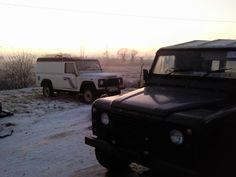 Great view to wake up to! My trucks.