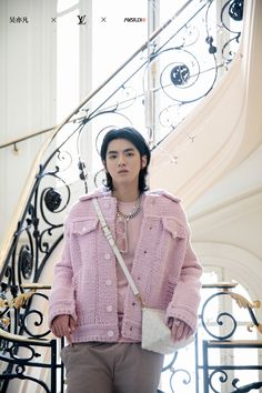 Kris Wu, Men's Spring Summer Fashion, Rapper, Lv Men, Picture Collection, Fashion Show, Ruffle Blouse, Celebs, Exo