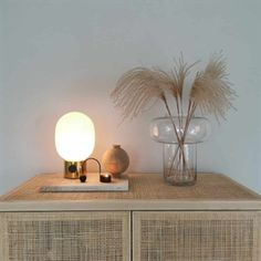Blog Lamp Design, Lighting Design, Metal Table Lamps, Diffused Light, Oil Lamps, Polished Brass, Light Decorations, White Walls, Simple Designs