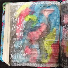#zentangle #obadiah #biblejournaling #journalingBible #IlluminatedJournaling #illustratedfaith #biblejournal Illustrated Faith, Bible Journal, Journal Inspiration, Zentangle, Journaling, Creative, Instagram Posts, Ideas, Zentangle Patterns