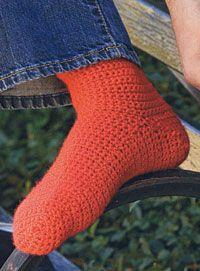 Basic Crocheted Socks