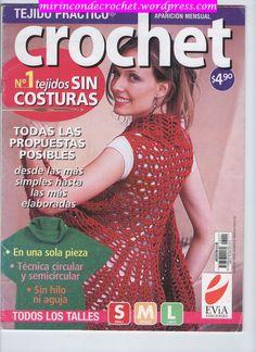View album on Yandex. Crochet Books, Crochet Art, Crochet Patterns, Knitting Magazine, Crochet Magazine, Crochet Gratis, Filet Crochet, Bolero Crochet, Crochet Clothes