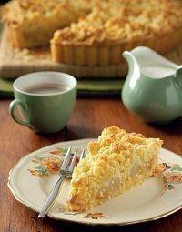 Louwarm terte propvol wintergeure is vandeesweek op die spyskaart. Apple Cake Recipes, Milk Recipes, Tart Recipes, Sweet Recipes, Dessert Recipes, Cooking Recipes, Apple Desserts, Baking Desserts, Cake Baking