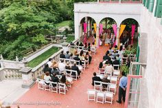 ❧Just love seeing Villa Terrace used in a new way!  Planning by @Tailored Engagements  #indianwedding Indian Wedding | Villa Terrace Wedding | Italian Villa Wedding | Venezuelan Weddings  http://mthreestudioblog.com/indian-wedding-at-villa-terrace-adriana-ashish-part-one/weddings/