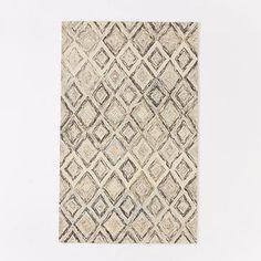 Prism Wool Rug - Slate #westelm