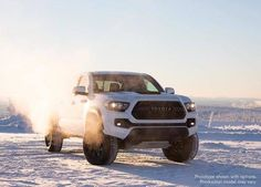 Too many places to see. Now there's a truck that'll get you to all of them... #Tacoma #TRDPro