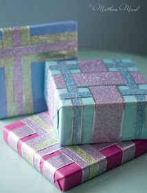 Home-Styling: Giftwrapping for dummies - Embrulhos para tótós!!
