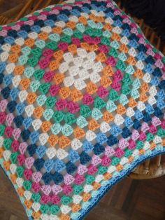 Crochet Pillow by GeHaaktdoorMarijtje on Etsy