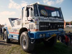 DAF Turbo Twin by Jan de Rooy The only truck EVER capable of overtaking the race leaders rally car at full speed off track in the Paris Dakar rally.