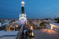 Retales de Madrid: RADIO: La terraza para tocar el cielo en el nuevo ...