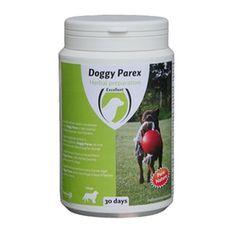Aus der Kategorie Wurmkuren  gibt es, zum Preis von EUR 16,62  Excellent Doggy Parex<br /> Medpets vertreib seit geraumer Zeit mit großem Erfolg Equi Parex, ein natürliches Heilmittel für Pferde, das die Darmgesundheit fördert und rezeptfrei bestellt werden kann. Das Produkt ist jetzt auch für Hunde erhältlich, und zwar unter dem Namen: Doggy Parex. Doggy Parex ist aus völlig natürlichen Zutaten hergestellt und unterstützt den Darm Ihres Hundes.<br /> <br /> Eigenschaften:<br /> Doggy Parex…