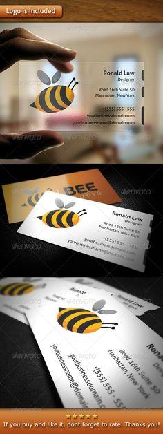 Bee Studio Business Card - Creative Business Cards