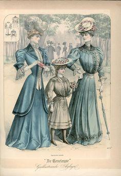 Gracieuse. Geïllustreerde Aglaja, 1905, aflevering 13, pagina 156/9